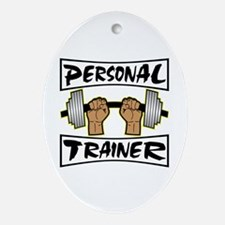 Personal Trainer Ornament (Oval)