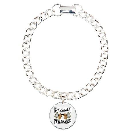 Personal Trainer Charm Bracelet, One Charm