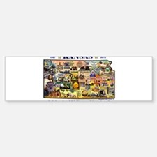 Images of Kansas, Celebrating Bumper Bumper Sticker