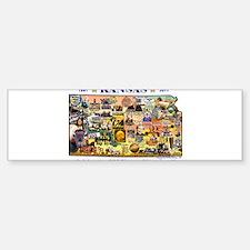 Images of Kansas, Celebrating Sticker (Bumper)