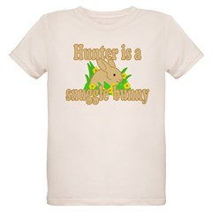 Hunter is a Snuggle Bunny T-Shirt