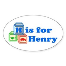 Baby Blocks Henry Decal