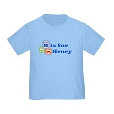 Baby Name Blocks - Henry T