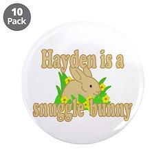 Hayden is a Snuggle Bunny 3.5