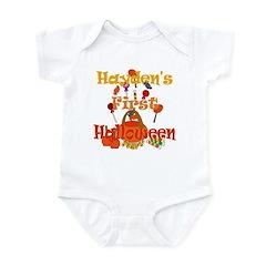 Hayden's First Halloween Infant Bodysuit