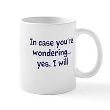 """Wondering"" Coffee Mug"