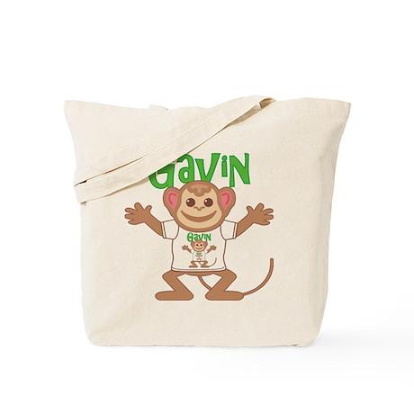 Little Monkey Gavin Tote Bag