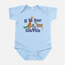 G is for Gavin Infant Bodysuit