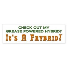 Grease Powered Hybrid-Frybrid