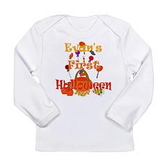 First Halloween Evan Long Sleeve Infant T-Shirt