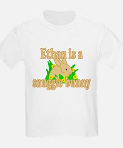 Ethan is a Snuggle Bunny T-Shirt
