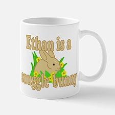 Ethan is a Snuggle Bunny Mug