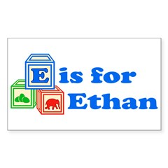 Baby Blocks Ethan Decal
