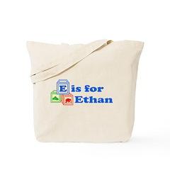 Baby Name Blocks - Ethan Tote Bag