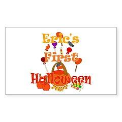 First Halloween Eric Sticker (Rectangle)