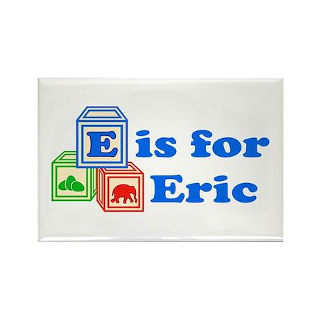Baby Blocks Eric Rectangle Magnet (10 pack)