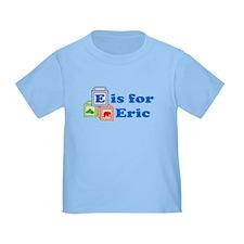Baby Name Blocks - Eric T