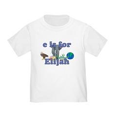 E is for Elijah T