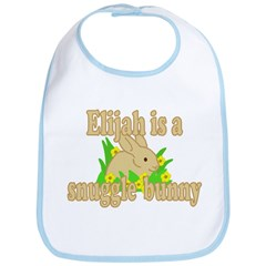 Elijah is a Snuggle Bunny Bib
