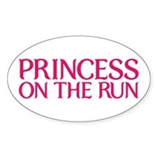 Princess on the run Decal