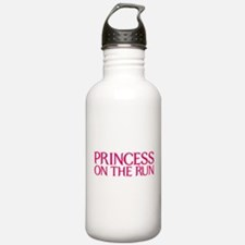 Princess on the run Water Bottle
