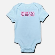 Princess on the run Infant Bodysuit