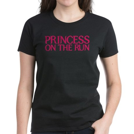 Princess on the run Women's Dark T-Shirt