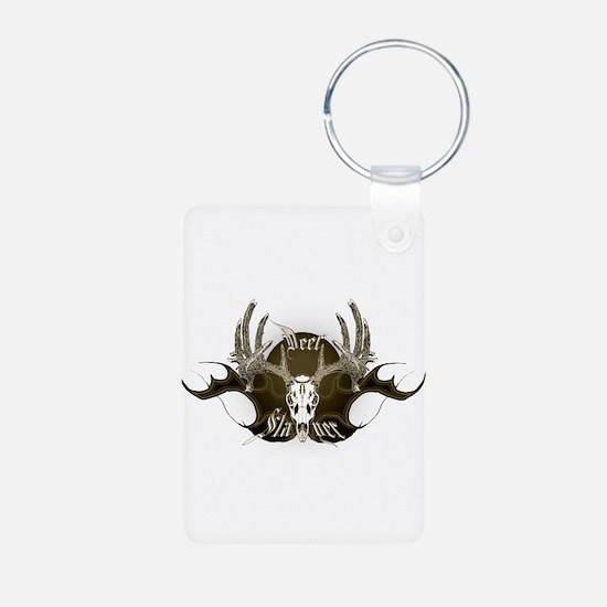 Deer Slayer Aluminum Photo Keychain