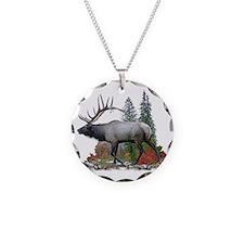 Bull Elk Necklace