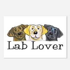 Lab Lover Postcards (Package of 8)