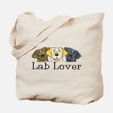 Lab Lover Tote Bag