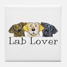 Lab Lover Tile Coaster