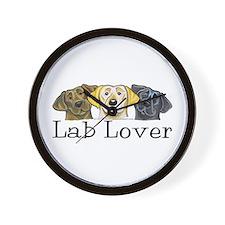 Lab Lover Wall Clock
