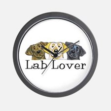 Lab Lover Wall Clock