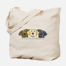 Labs 3 Colors Tote Bag