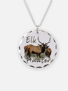 Elk Hunter Necklace