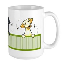 Black Yellow Chocolate Lab Lover Mug