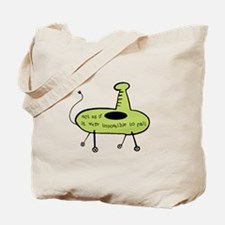 Act As If - Green Tote Bag