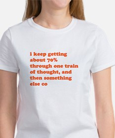 Train of Thought Women's T-Shirt