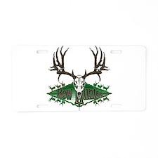 Bow hunter deer skull Aluminum License Plate