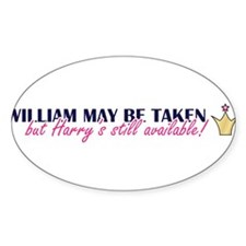 Cute Princes william harry Decal