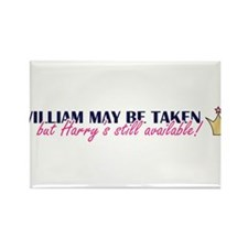 Cute Princes william harry Rectangle Magnet