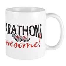 Marathons awesome! Mug