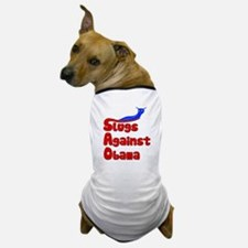 Slugs Against Obama Dog T-Shirt