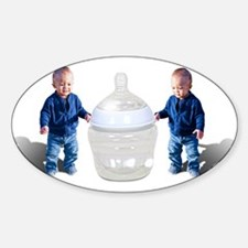 Babies and Bottle Decal