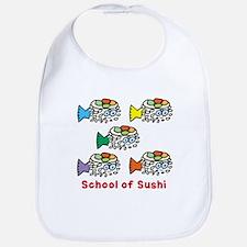 School of Sushi Bib