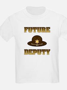 Future Deputy Kids T-Shirt