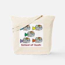 School of Sushi Tote Bag