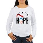 Anti Obama 2012 Women's Long Sleeve T-Shirt