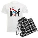 Anti Obama 2012 Men's Light Pajamas